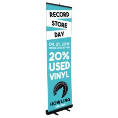 Custom 24 Inch Retractable Banner