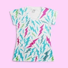 Vapor S250WH Sublimation Slim Fit V-Neck