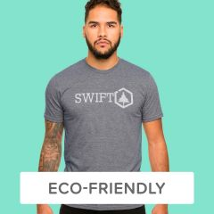 Custom Printed Eco-Friendly Recycled Plastic T-Shirt
