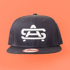 New Era NE400 Flat Bill, High Crown Snapback