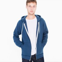 American Apparel F497 Flex Fleece Zip Hoody