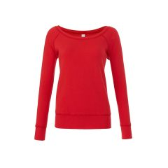 Bella+Canvas 7501 Women's Sponge Fleece Wide Neck Sweatshirt