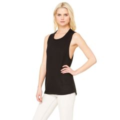 Bella+Canvas 8803 Women's Flowy Scoop Muscle Tank