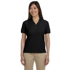 Devon & Jones D100W Pima Pique Short-Sleeve Polo