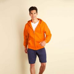 Gildan 12600 DryBlend Full Zip Hooded Sweatshirt