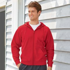 Jerzees PF93MR Sport Tech Fleece Full-Zip Hooded Sweatshirt
