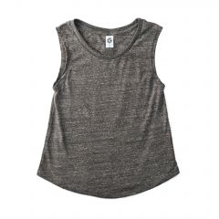 US Blanks US116 Tri-Blend Jersey Muscle Tee